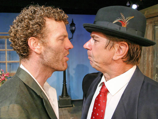"""Troy Dunn, Bo Roberts in """"Rhinoceros"""" at City Garage Theatre"""