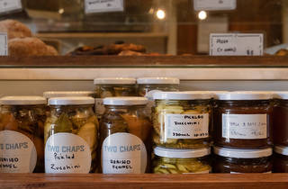 Two Chaps pickles (Photograph: Daniel Boud)