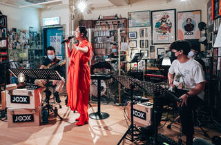 Joox staycation live  janice vidal