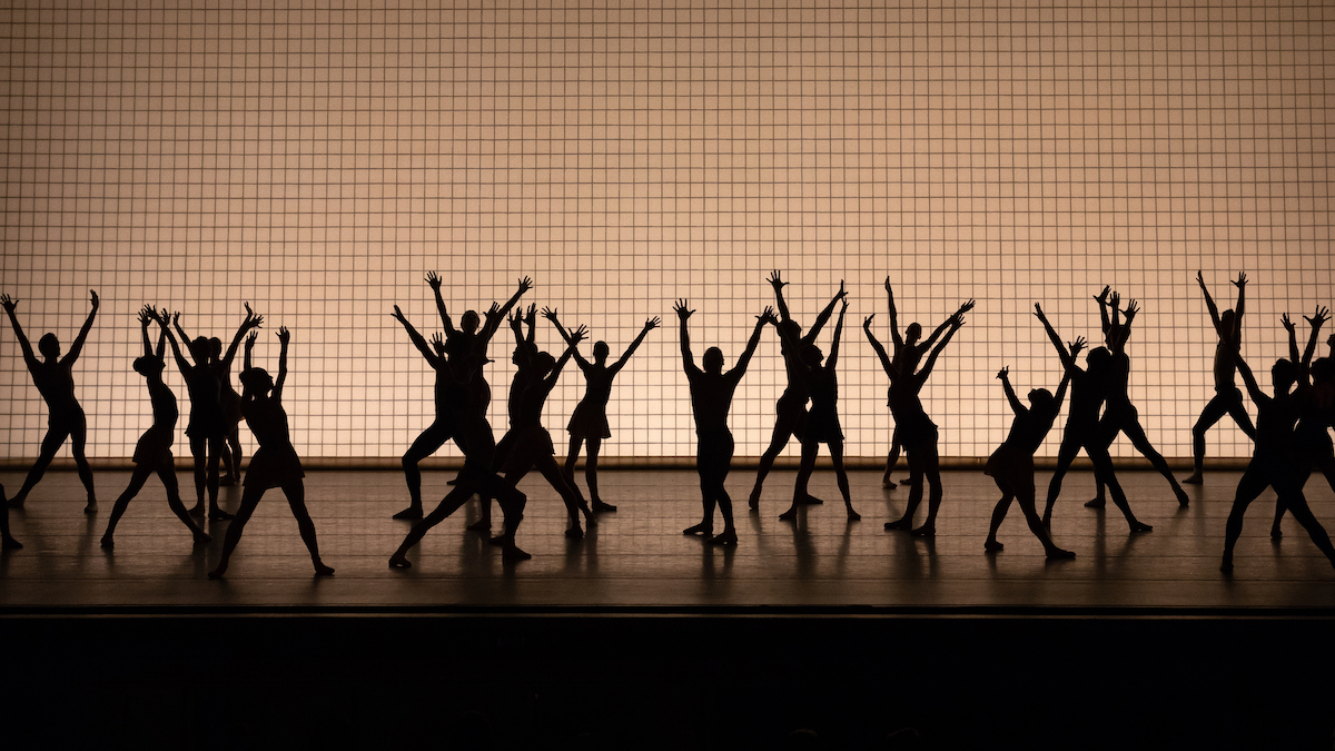 """New York City Ballet in """"Glass Pieces"""""""