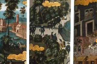 Biombos y castas, pintura profana de la Nueva España