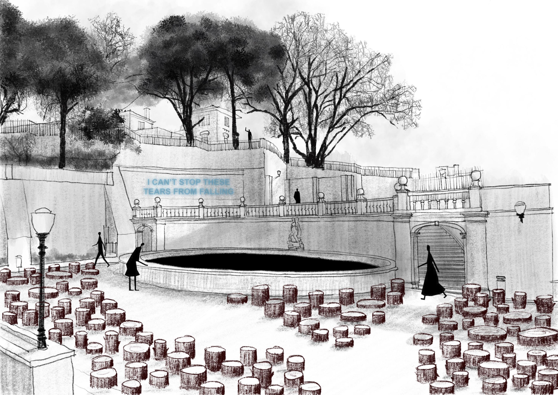 Jardim do Torel recebe instalação ambientalista