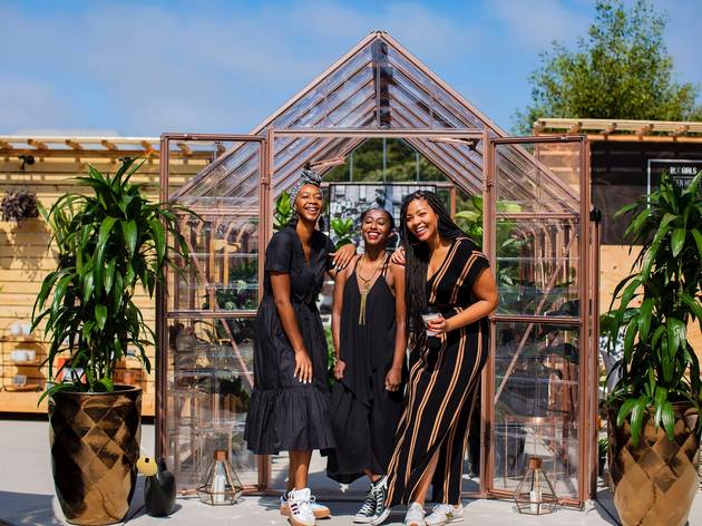 Blk Girls Green House in Oakland