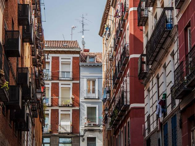 Lavapiés in Madrid