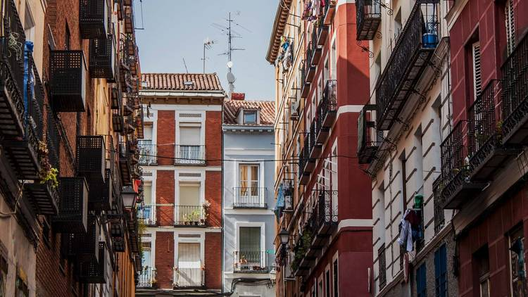 Lavapiés in Madrid