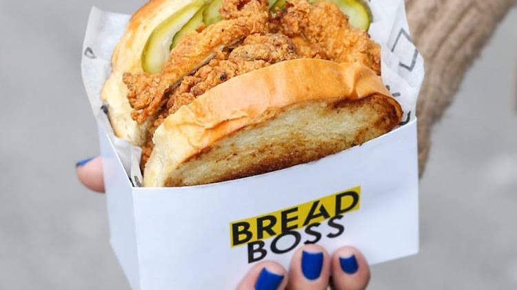 Chicken Sandwich, Bread Boss