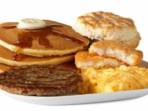 Big Breakfast with Hot Cakes