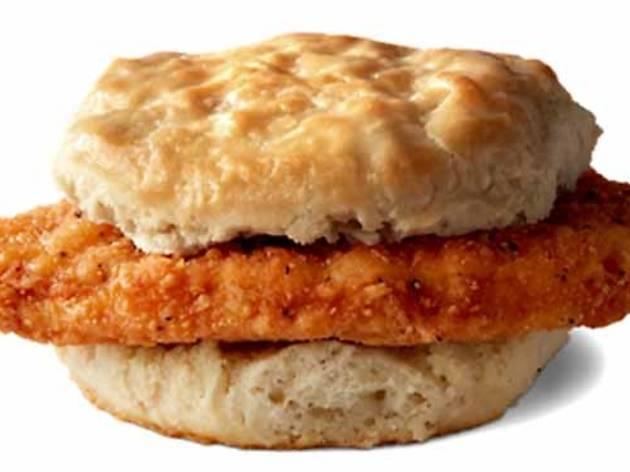 McDonald's Hot N Spicy Biscuit