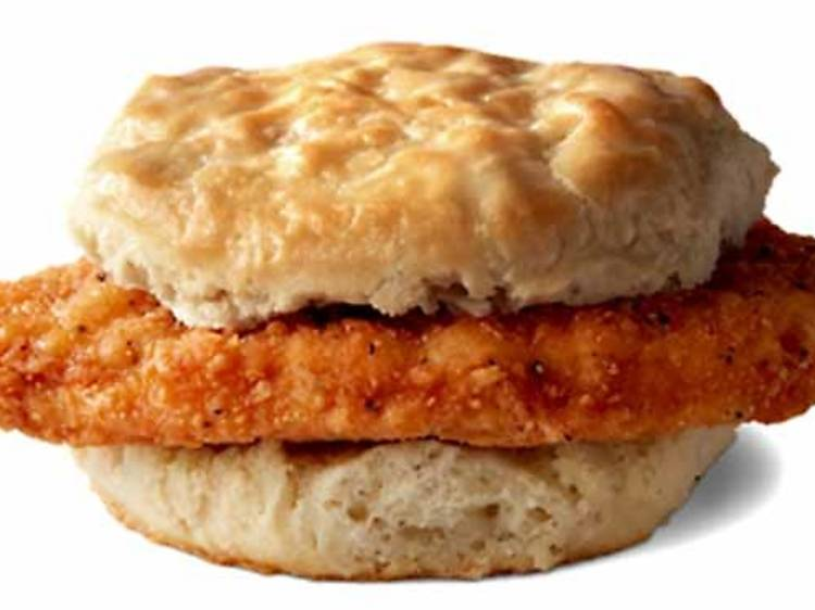 Hot 'n Spicy McChicken Biscuit