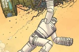 Ilustración de portada de The Big Guy and Rusty the Boy Robot