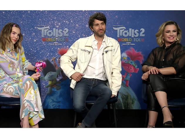 Belinda, Benny Ibarra y María José nos cuentan cómo fue trabajar en Trolls 2: gira mundial