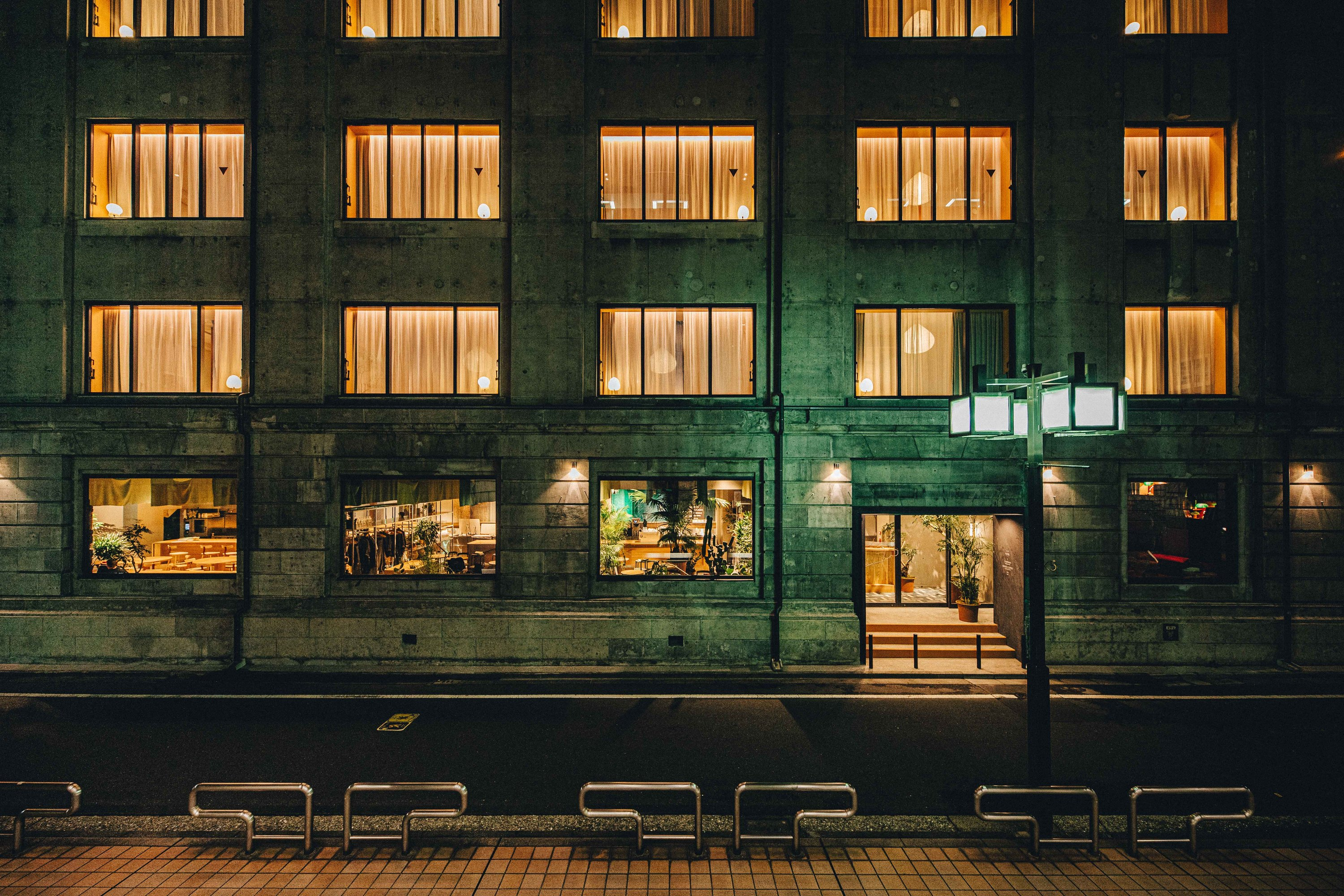 K5 transforms a 1920s bank in Nihonbashi into a trendy hangout with café, restaurant and bars