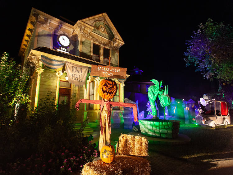 Freeform's Halloween Road is setting up a 'Nightmare Before Christmas' village in L.A.