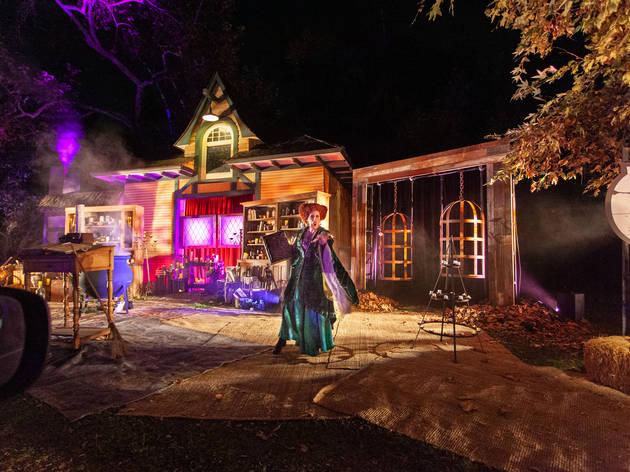 Freeform Halloween Road