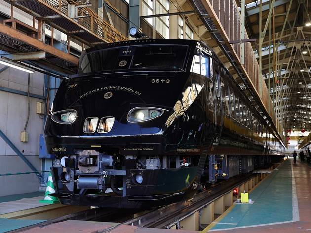 JR Kyushu's new luxury train offers sightseeing tours to the island's top destinations