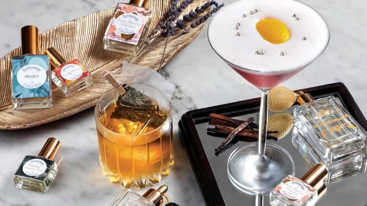 Bar Q88 perfume cocktail