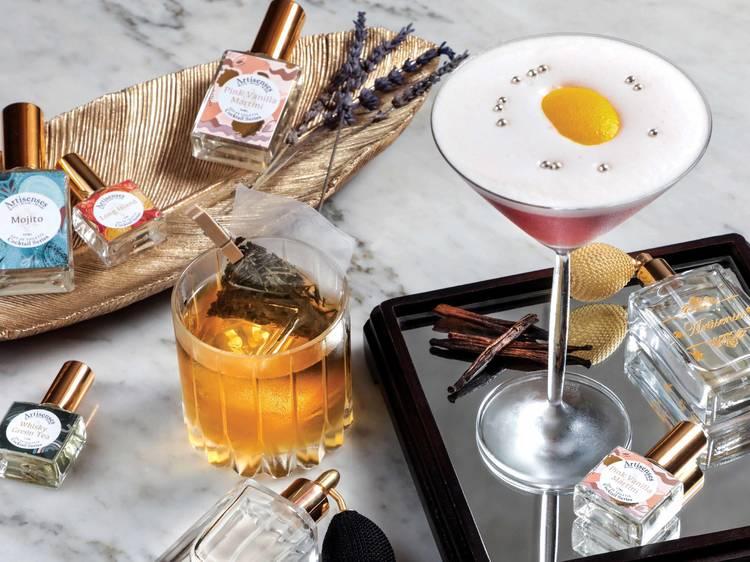 Bar Q88 partners with Artisenses Bespoke Perfumery