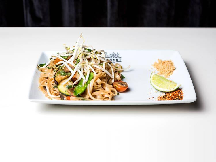 Pad Thai Vegetariano do Asian Lab