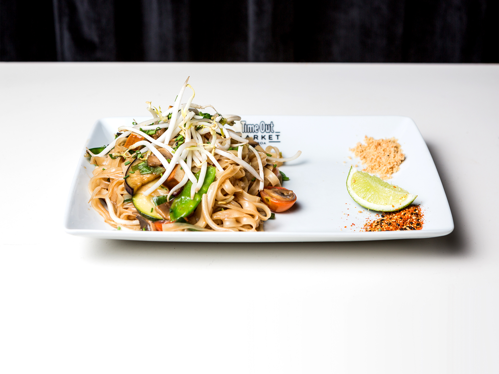 Restaurante, Time Out Market, Asian Lab, Pad Thai Vegetariano