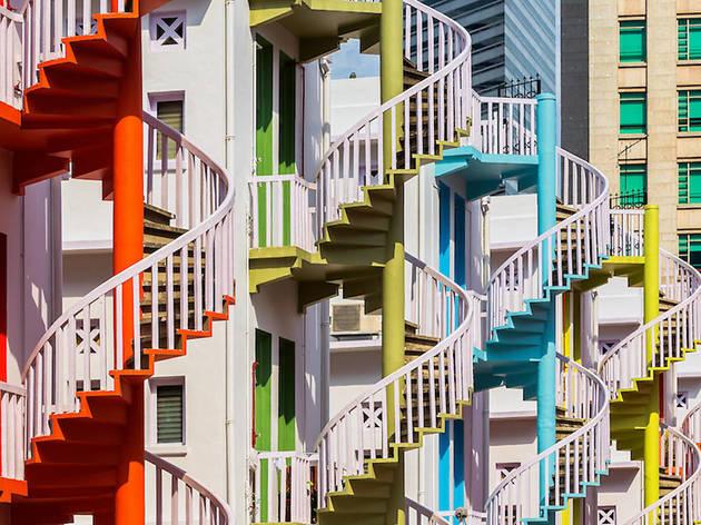 Stairwells in Bugis