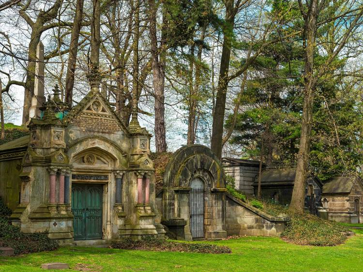 Cleveland, OH: Lake View Cemetery