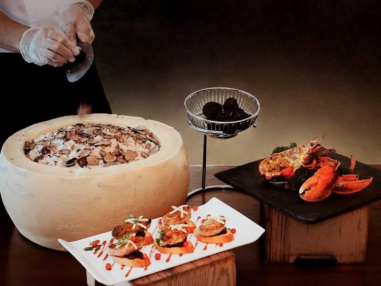 香港沙田萬怡酒店:龍蝦、鴨肝及松露自助餐