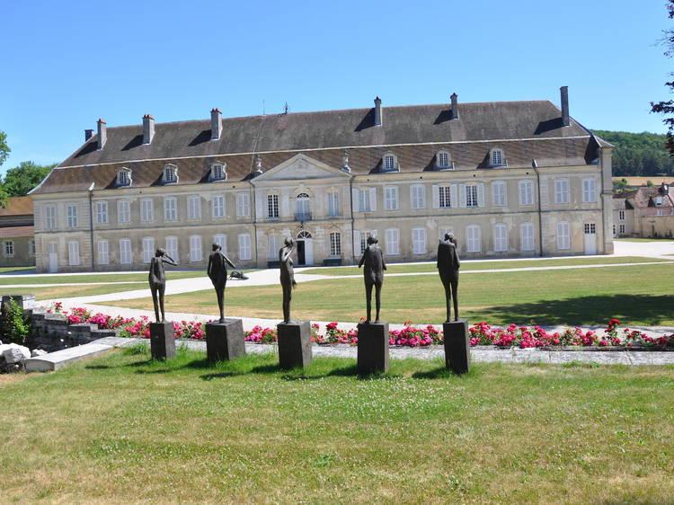 Visiter une abbaye transformée en centre d'art contemporain