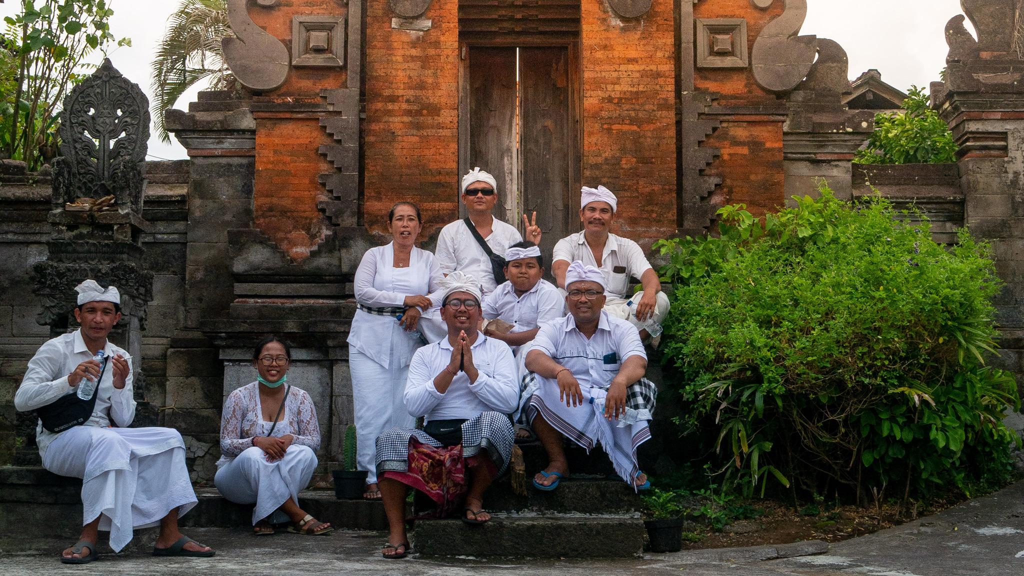 People in Banjar Nagi, Ubud, Bali