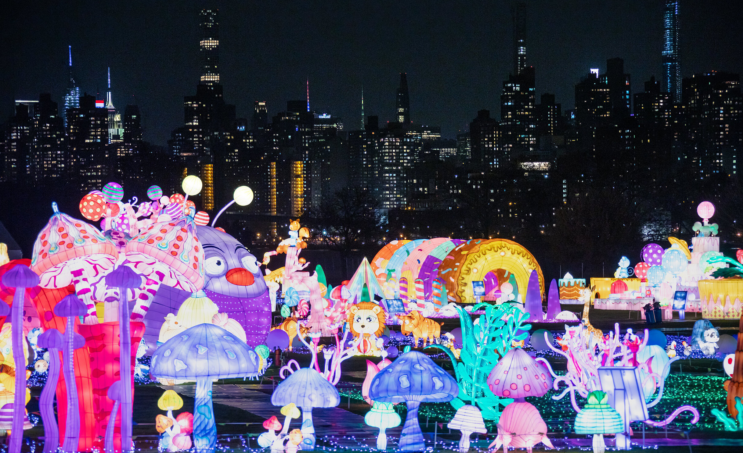 nyc LuminoCity festival lights