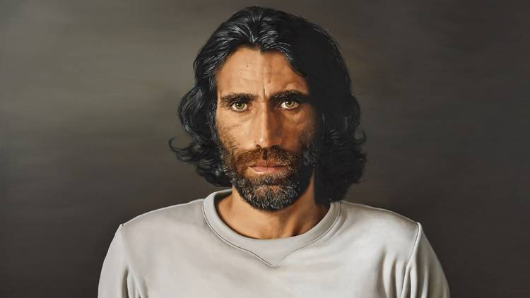 Angus McDonald, 'Behrouz Boochani' Archibald Prize finalist 2020