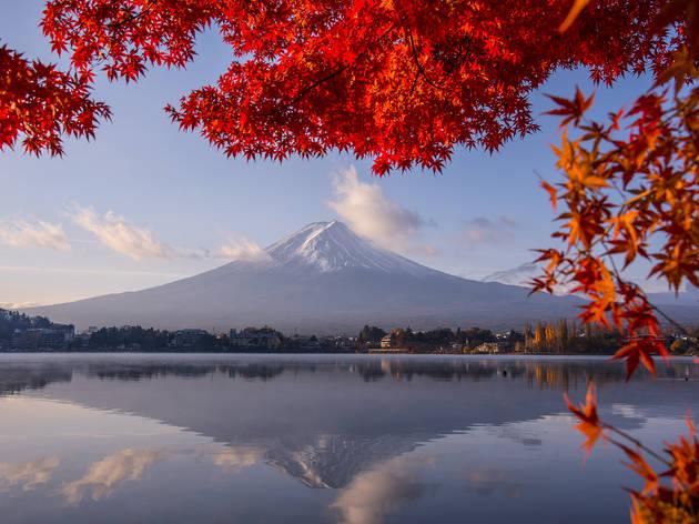Lake Kawaguchiko, Yamanashi