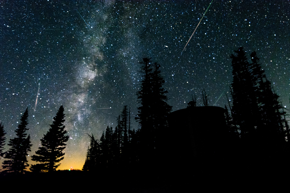 There are TWO meteor showers streaking across the night's sky this month