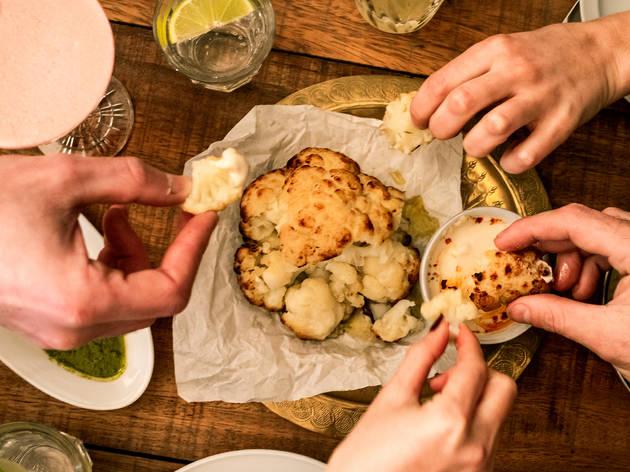 Restaurante, Fàres, Couve-flor grelhada