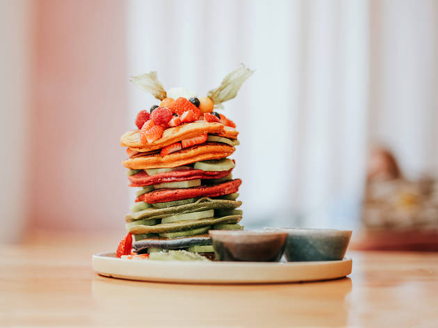 Restaurante, Yard of Greens, Rainbow Pancake Tower