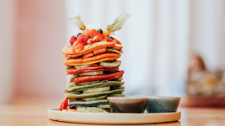 Restaurante, Yard of Greens, Rainbow Pancake Tower