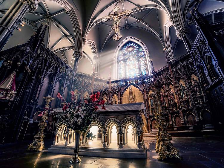 It's home to Saint Patrick's Old Cathedral