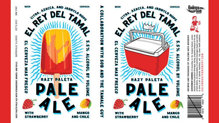 Solemn Oath Brewery Tamale Guy beer