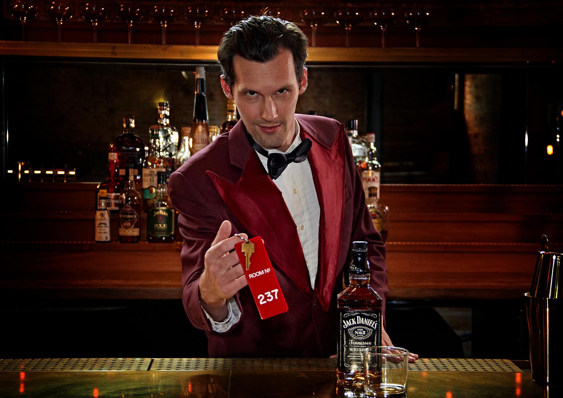 Lloyd the Bartender at Room 237