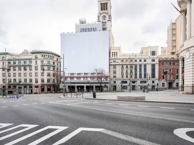 Foto de Madrid vacío