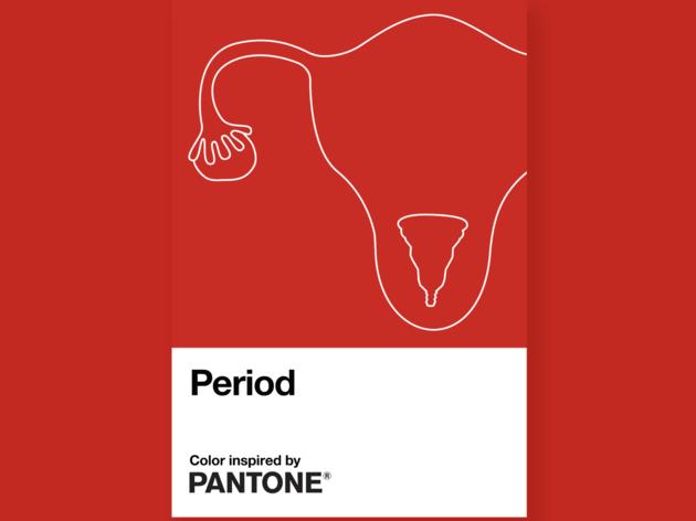 Rojo Period. Rojo Pantone