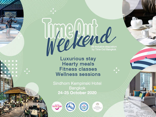 Time Out Weekend at Sindhorn Kempinski Hotel Bangkok
