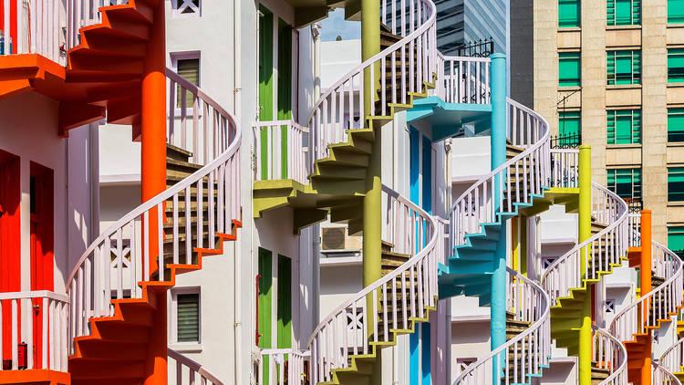 Bugis Village in Singapore