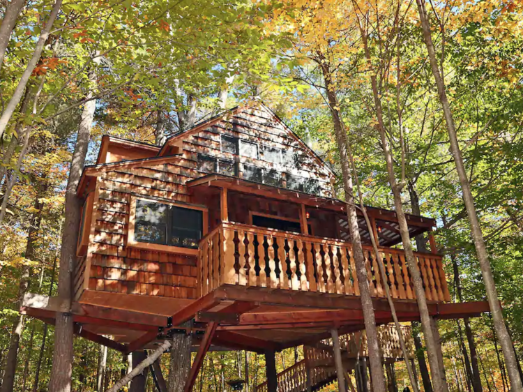 The coolest Airbnb treehouse rentals near NYC
