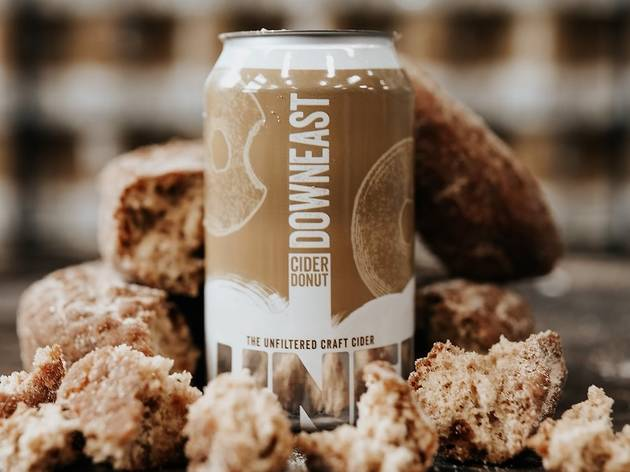 Downeast Cider House, donut