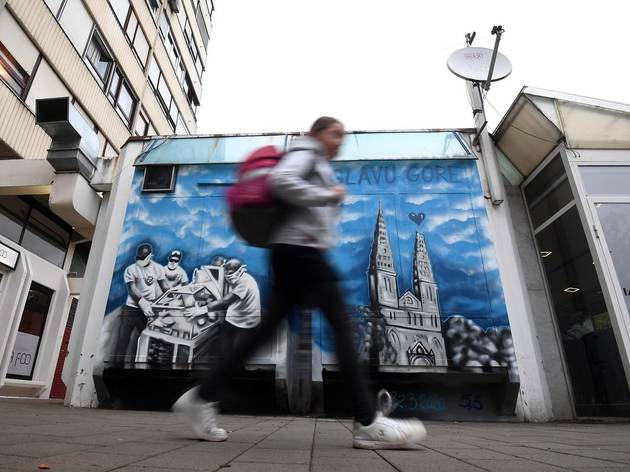 PHOTOS: See the new mural dedicated to Zagreb after the March 22 earthquake