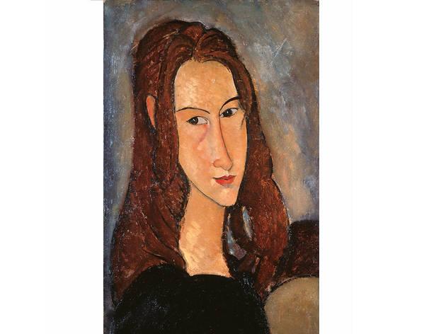 Amedeo Modigliani, Jeune fille rousse (Jeanne Hébuterne) [Joven pelirroja (Jeanne Hébuterne)],