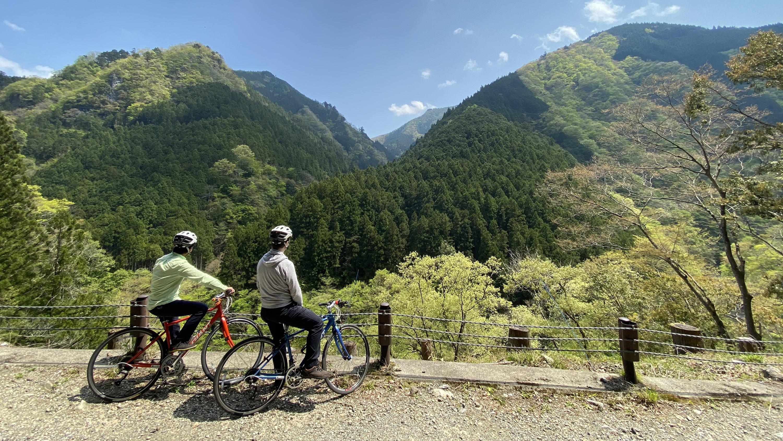 Okutama English cycling tours Trekkling