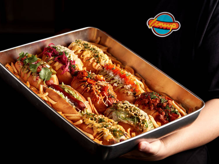 Line Up Hotdog:熱狗$28起