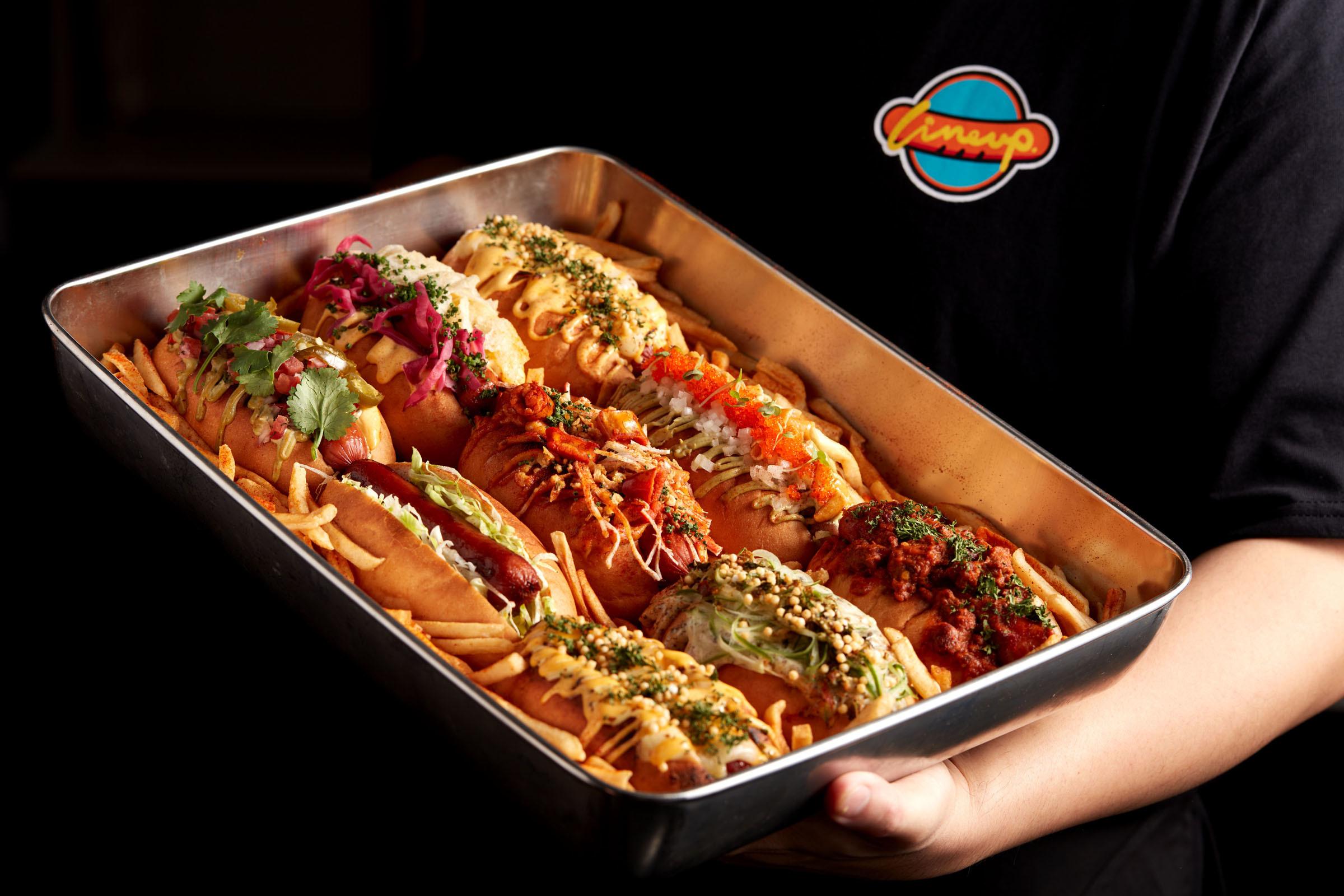 Line Up Hotdog