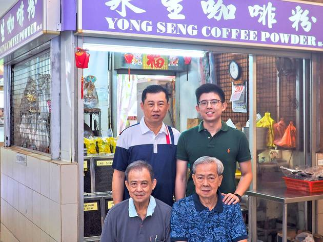 Hawker spotlight: a specialty hawker coffee shop passed through the generations